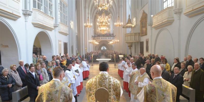 Blick in die Wiener Augustinerkirche | © Augustiner Wien | Foto: Franz Josef Rupprecht