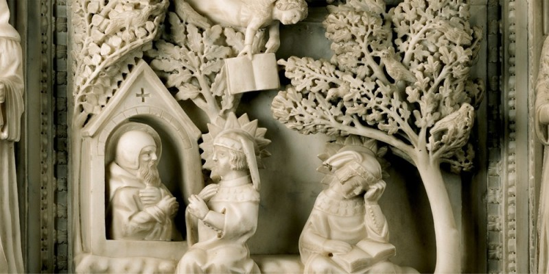 Detail aus der Arche des hl. Augustinus | © Augustiner Wien