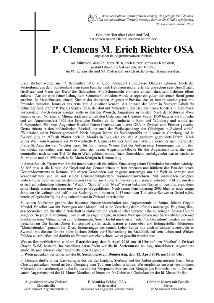 P. Clemens Parte Wien HP